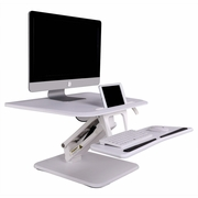 "FlexiSpot Compact Height Adjustible Sit-Stand Desktop Workstation <font color=""red"">See all Colors</font>"