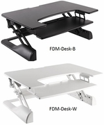 Freedom Desk - Height Adjustable Standing Desk <b>See all Sizes</b>