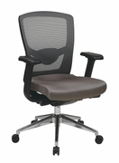 Grey ProGrid High Back Chair