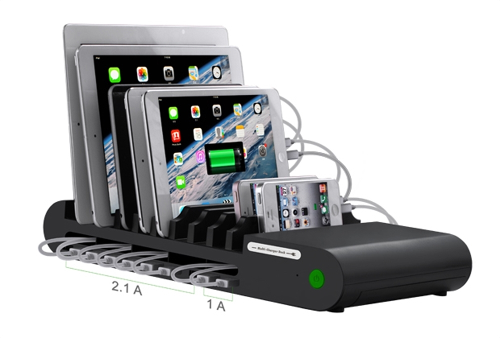 Click To Enlarge Hamiltonbuhl 10 Port Usb Charging Station