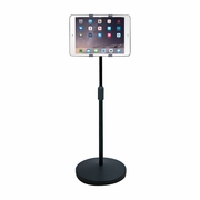HamiltonBuhl iPad/Tablet Universal Mount Height Adjustable Floor Stand