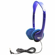 HamiltonBuhl Kids On-Ear Blue Stereo Headphone