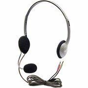 HamiltonBuhl Personal Multimedia Headset with Gooseneck Microphone
