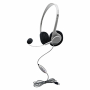 HamiltonBuhl Personal USB Headphone with Microphone