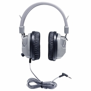 HamiltonBuhl SchoolMate� Deluxe Stereo Headphone with 3.5 mm Plug and Volume Control