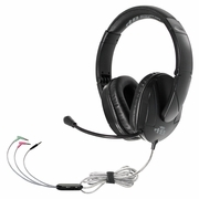 HamiltonBuhl Trios™ Multimedia Headset with Steel Reinforced Gooseneck Mic