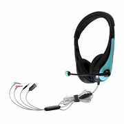 HamiltonBuhl TriosAir Plus Personal Multimedia Headset with Gooseneck Mic