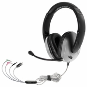 HamiltonBuhl TriosPlus™ Multimedia Headset with Steel Reinforced Gooseneck Mic