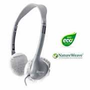 "HygenX Natureweave Biodegradable/Disposable Sanitary Ear Cushion Covers 2.5"" For On-Ear Headphones (50 Pair)"