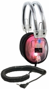 LED Light Up Deluxe Headphone with 3.5mm Plug with Volume Control