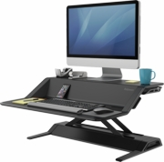 "Lotus Sit-Stand Workstation <font color=""red"">Black or White</font>"