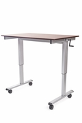 "Luxor 48"" Crank Adjustable Stand Up Desk <font color=""red"">See All Styles</font>"