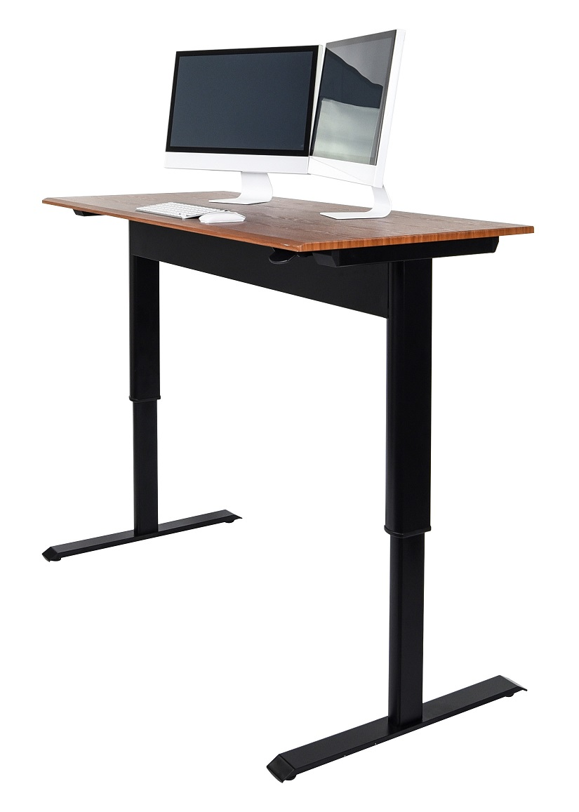 Luxor Pneumatic Adjustable Height Standing Desk See All Sizes