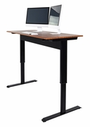 "Luxor Pneumatic Adjustable Height Standing Desk <font color=""red"">See all sizes</font>"