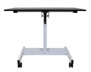 Luxor Single Column Crank Adjustable Stand Up Desk