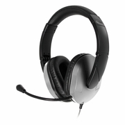 MACH-2 Multimedia Stereo Headset - Over-Ear with Steel Reinforced Gooseneck Mic