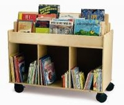 MOBILE BOOK STORAGE ISLAND