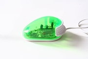 My Lil One Button Mouse - Green