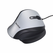 Newtral 2 Ergonomic Wired Silver/Black Mouse