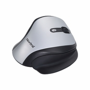 Newtral 2 Ergonomic Wireless Silver/Black Mouse -Large