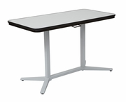 Pro-Line II Pneumatic Height Adjustable Table w/ Dry Erase Top