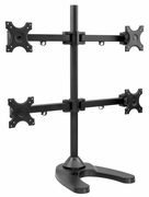 Quad Freestanding Monitor Stand for Widescreen Monitors Up to 24""