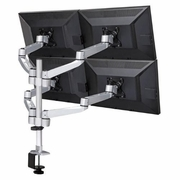 Quad Monitor Desk Mount 13� � 24� Screen Sizes