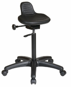 Saddle Seat Stool with Seat Angle Adjustment