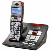 Serene Innovations HD Amplified Cordless Answering Machine DECT 6.0 CID Phone CL-60A