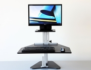 Single Kangaroo Adjustable Sit and Stand Workstation <font color=red><b>See All Colors</b></font>