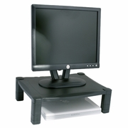 "Single Level Adjustable Monitor Stand <font color=""red"">See all Sizes</font>"