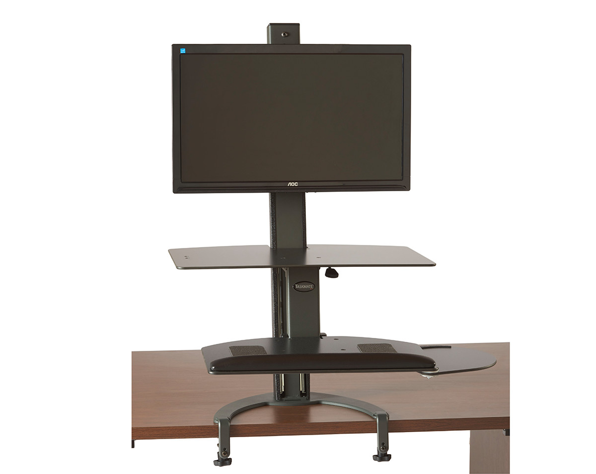Single Or Dual Taskmate Go Large Height Adjustable Sit And
