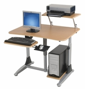 Sit & Stand Computer Workstation