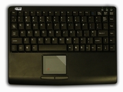 Slim Touch Mini Wired Keyboard with built in Touchpad
