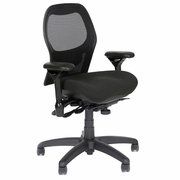 "Sola Mesh Back Ergonomic Chair with Contoured Seat <font color=""red""> See all Styles</font>"