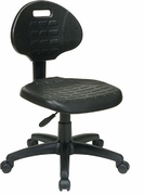 Task Chair with Self-Skinned Urethane Seat and Back