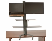 TaskMate Go Extra Large Laptop Height Adjustable Sit and Stand Workstation