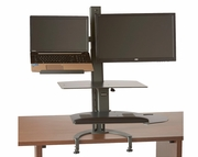 TaskMate Go Large Laptop Height Adjustable Sit and Stand Workstation