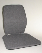 Sacro Ease Trimet Seat & Back Support with Poly Foam