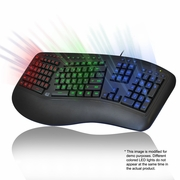 Tru-Form 150 - 3-Color Illuminated Ergonomic Keyboard