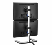Visidec Freestanding Dual Vertical Monitor Stand