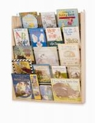 WALL BOOK DISPLAY