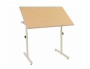 Wheelchair Accessible Worktable w/ Knob Adjustment