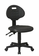 WorkSmart Ergonomic Chair w/ Seat Tilt & Back Angle Adjustment