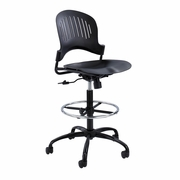 Zippi� Plastic Extended-Height Drafting Chair
