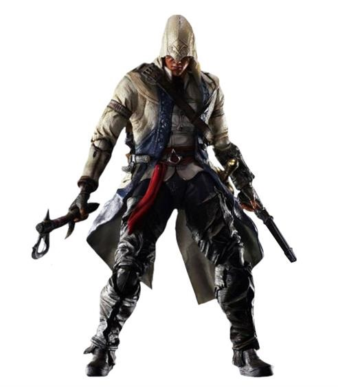 Low price on a lifelike Assassins Creed III Connor Play ...