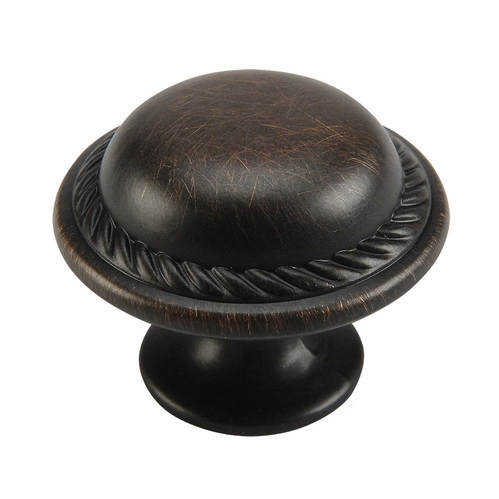 Cosmas 4688ORB Oil Rubbed Bronze Rope Cabinet Knob