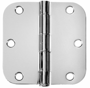 Polished Chrome Door Hinges