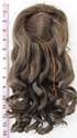 14 inch doll wig light brown SOLD