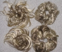 4 browni/blonde clearance scrunchies